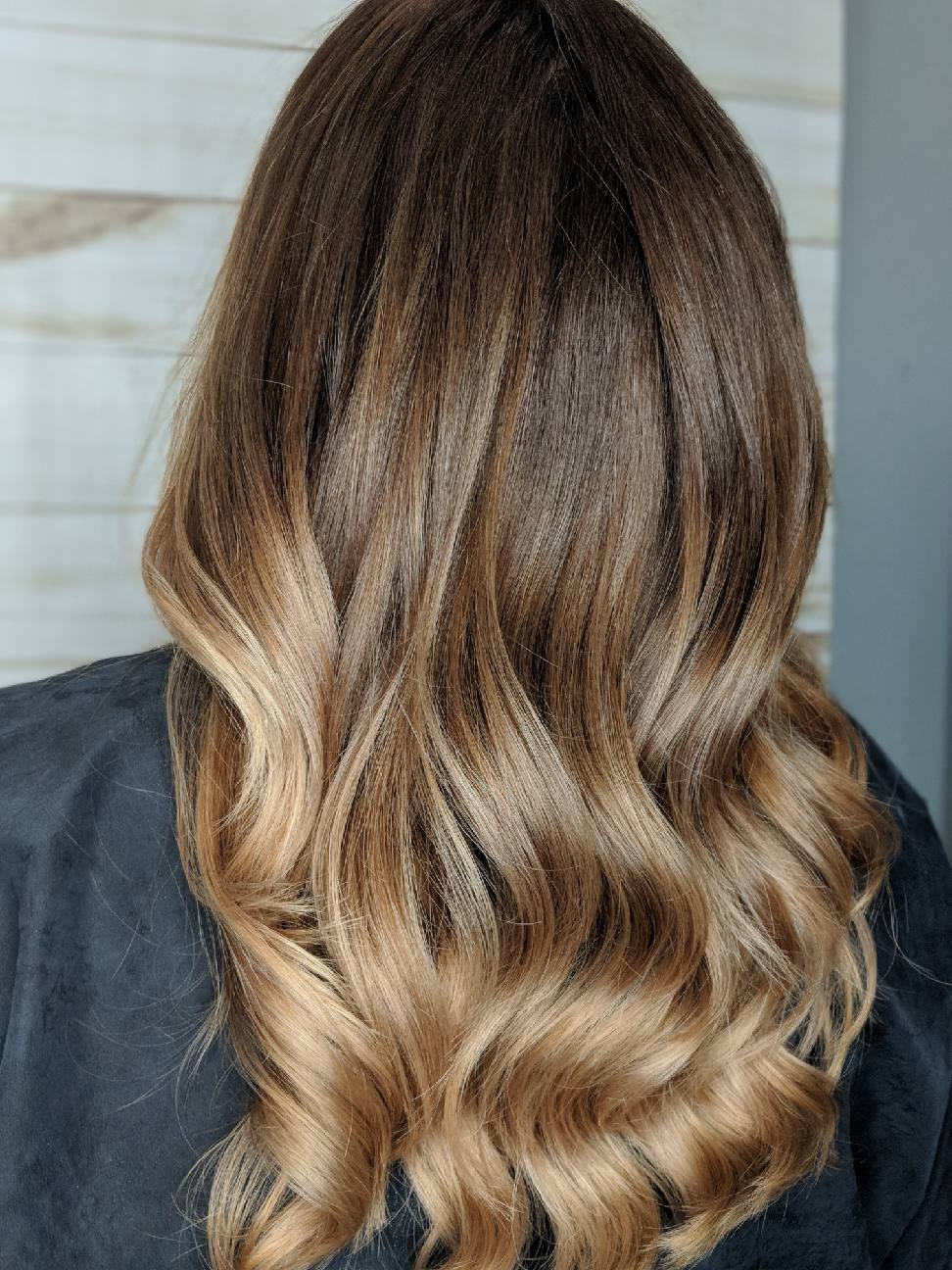 Salon Vivid Correcting Bad Balayage Or Ombre